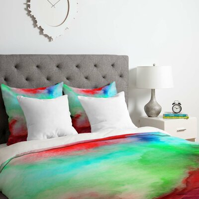 The Red Sea Duvet Cover Set Size: Queen