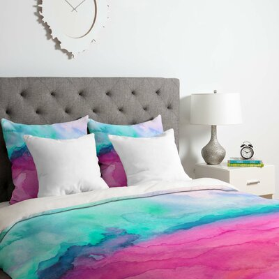 Tidal Color Duvet Cover Set Size: Twin/Twin XL