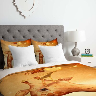 Star 1 Duvet Cover Set Size: King