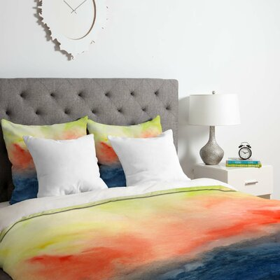 Brushfire Duvet Cover Set Size: Twin/Twin XL