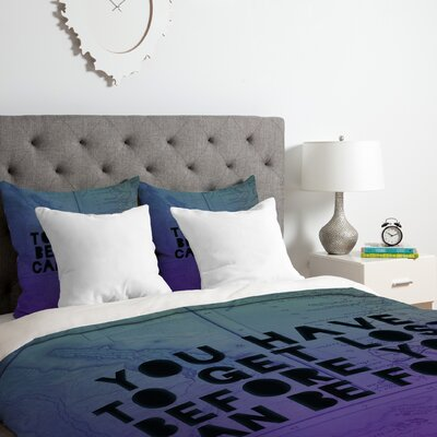 Lost X Found Duvet Cover Set Size: Twin/Twin XL