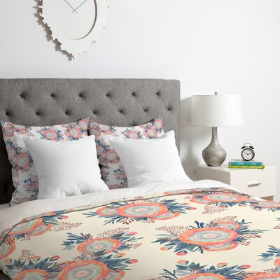 Iveta Abolina Morning Whispers Duvet Cover Set Size: Twin/Twin XL