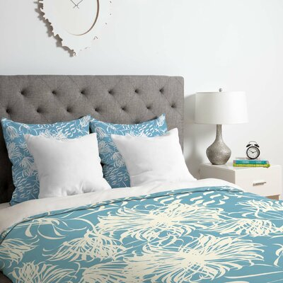 Cool Breezy Duvet Cover Set Size: King