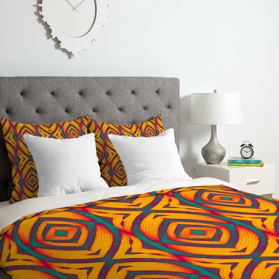 Maranta 2 Duvet Cover Set Size: King