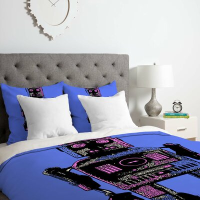 Robot Duvet Cover Set Size: King