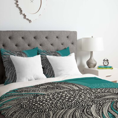 Beta Fish Duvet Cover Set Size: Queen