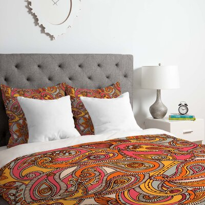 Valentina Ramos Spring Duvet Cover Set Size: Twin/Twin XL