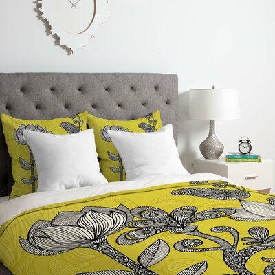 Garden Duvet Cover Set Size: Queen