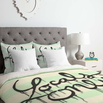 Locals Only Duvet Cover Set Size: Twin/Twin XL