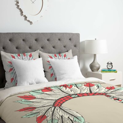 Dressy Duvet Cover Set Size: King