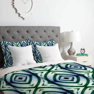 Maranta 1 Duvet Cover Set Size: Queen