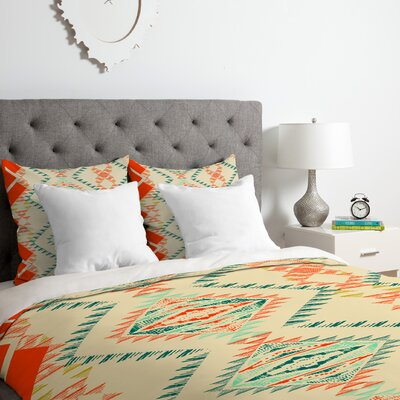 Pattern State Marker Southwest Duvet Cover Set Size: Queen