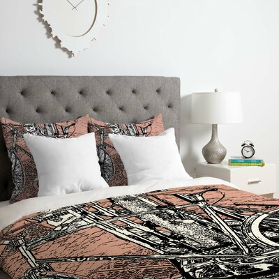 Romi Vega Bike Duvet Cover Set Size: Queen