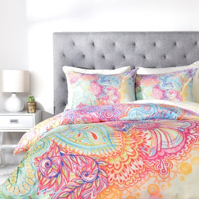 Flourish Duvet Cover Set Size: King