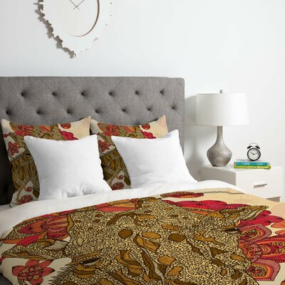 Valentina Ramos the Giraffe Duvet Cover Set Size: King