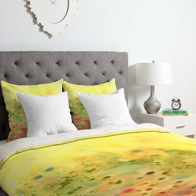 Rosie Brown Jeweled Pebbles Duvet Cover Set Size: King