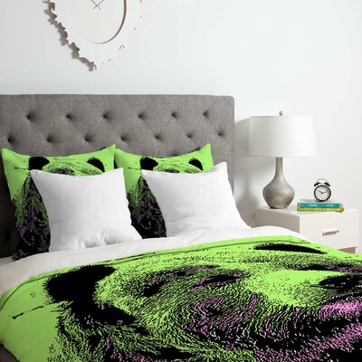 Bear Duvet Cover Set Size: Queen