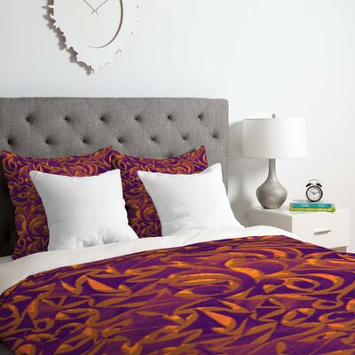 Garden 1 Duvet Cover Set Size: King