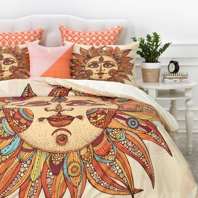 Helios Duvet Cover Set Size: King