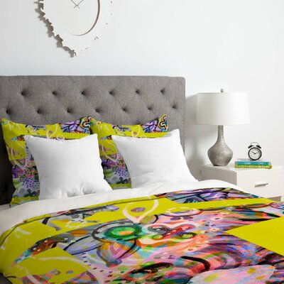 Cats 4 Duvet Cover Set Size: Queen