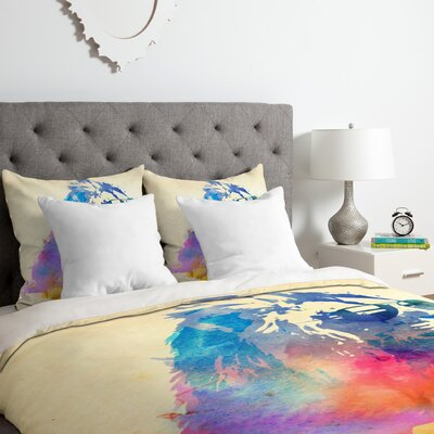 Leo Duvet Cover Set Size: King