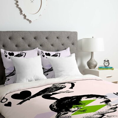 Randi Antonsen Poster Hero 2 Duvet Cover Set Size: Queen