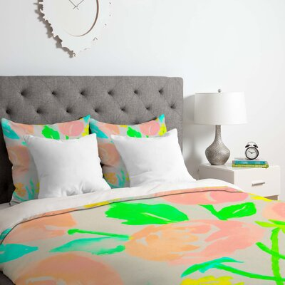 Blossom Dearie Duvet Cover Set Size: Twin/Twin XL