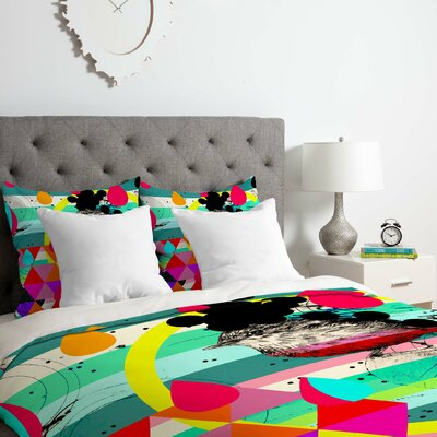 4 Duvet Cover Set Size: Twin/Twin XL