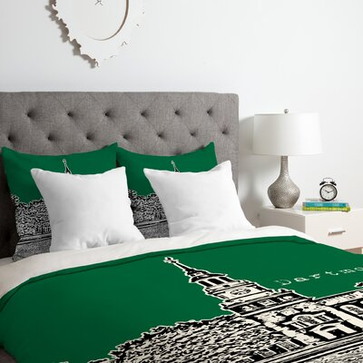Dartmouth College Duvet Cover Set Size: Twin/Twin XL