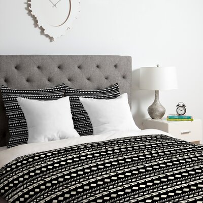 Aztec Duvet Cover Set Size: Queen