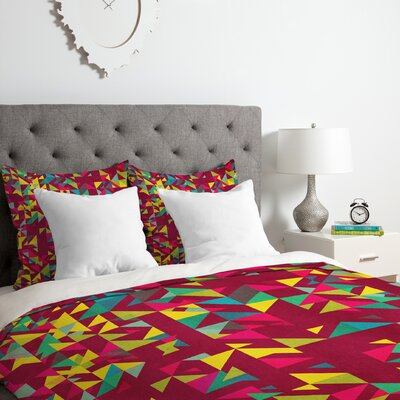 Chaos 3 Duvet Cover Set Size: Queen