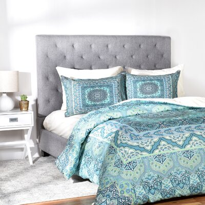 Squared Duvet Cover Set Size: Twin/Twin XL