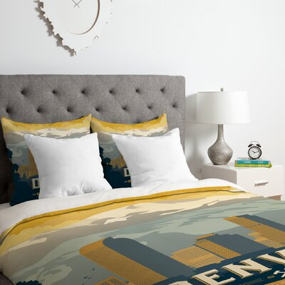 Denver 1 Duvet Cover Set Size: King