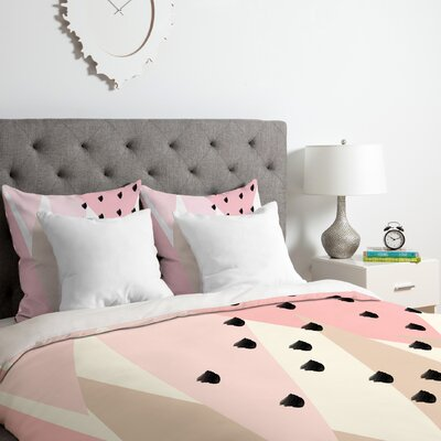 Blush Mod 2 Duvet Cover Set Size: King