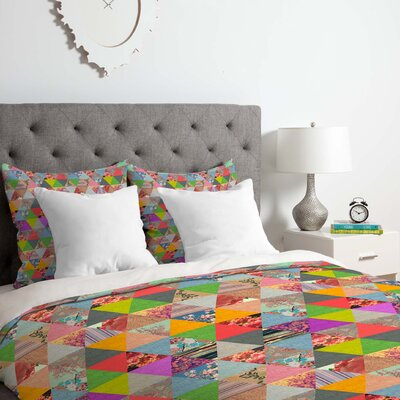 Lost in Pyramid Duvet Cover Set Size: Twin/Twin XL