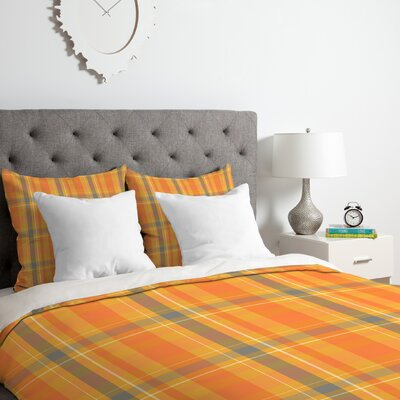 Fall Time Duvet Cover Set Size: King