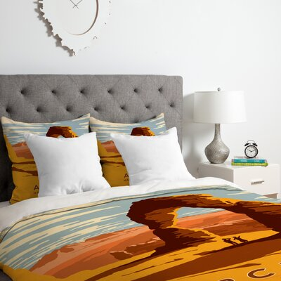 Arches Duvet Cover Set Size: Twin/Twin XL