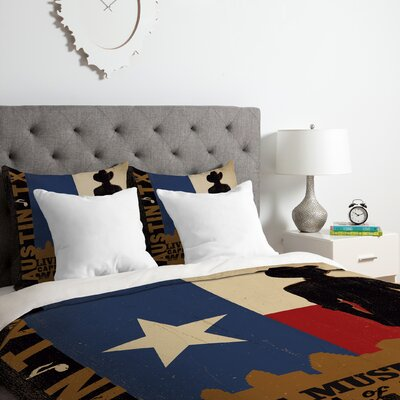 Austin Duvet Cover Set Size: King