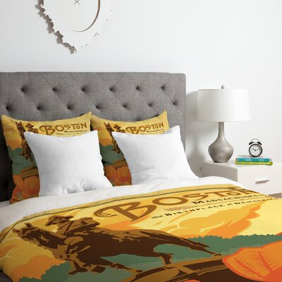 Anderson Design Group Boston Duvet Cover Set Size: Queen