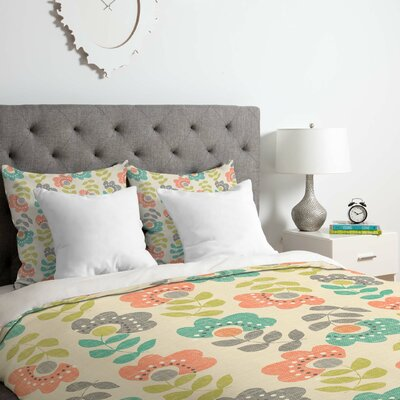 Wendy Kendall 2 Piece Duvet Cover Set
