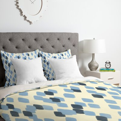 Allyson Johnson Denim Duvet Cover Set Size: King