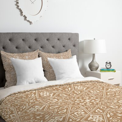 Duvet Cover Set Color: Neutral, Size: King