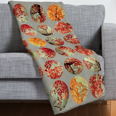 Garima Dhawan Inkblot Quilt Throw Blanket