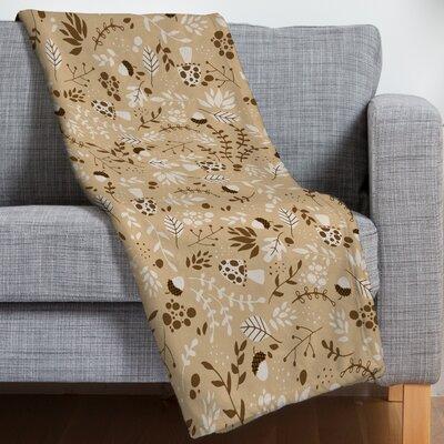 Jennifer Denty Autumn Forest Throw Blanket Size: 50 H x 60 W x 1.5 D