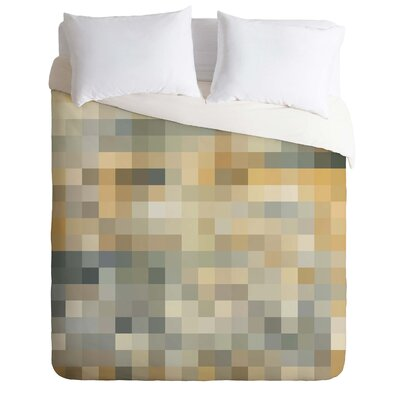 Madart Inc Desert Sand Duvet Cover Size: Twin