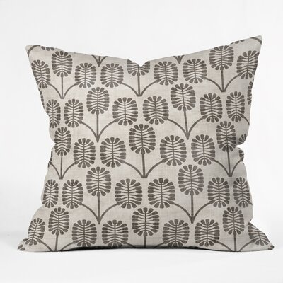 Holli Zollinger Thistle Throw Pillow Size: 18 H x 18 W x 5 D