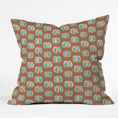 Pomegranate Throw Pillow Size: 18 H x 18 W x 5 D