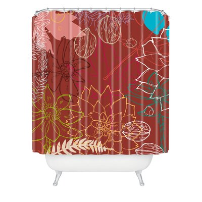 Geronimo Studio Fall Shower Curtain
