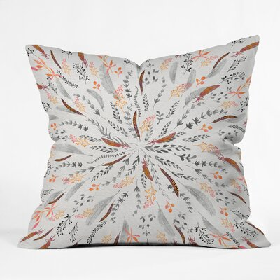 Feather Roll Throw Pillow Size: 26 x 26