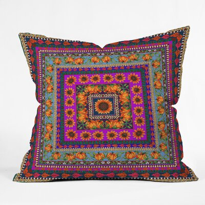 Fall Harvest Throw Pillow Size: 16 H x 16 W x 4 D